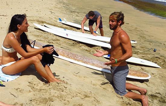 jobos surf teacher