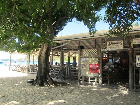 entrance to johnnos anguilla
