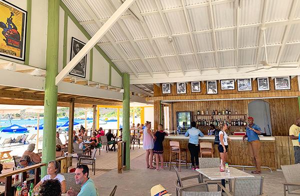 Anguilla restaurant, Johnno's