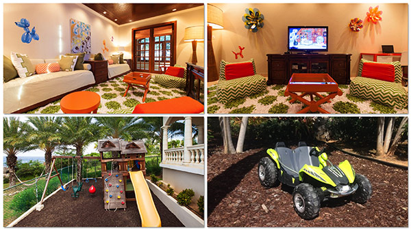 kids space at sandcastle villa