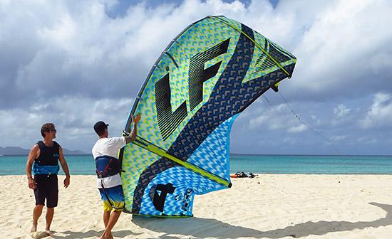 beautiful kites in anguilla