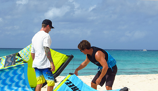 kitesurfing instruction in anguilla