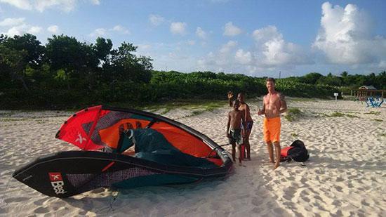 kitesurfing in anguilla