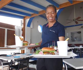 la villa burgers
