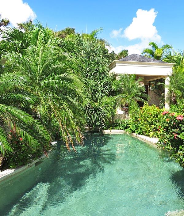 bird of paradise villa lagoon pool