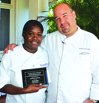 Leonicia Rey Richardson of cuisinart anguilla