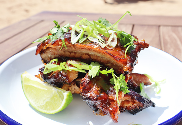ribs from Leons
