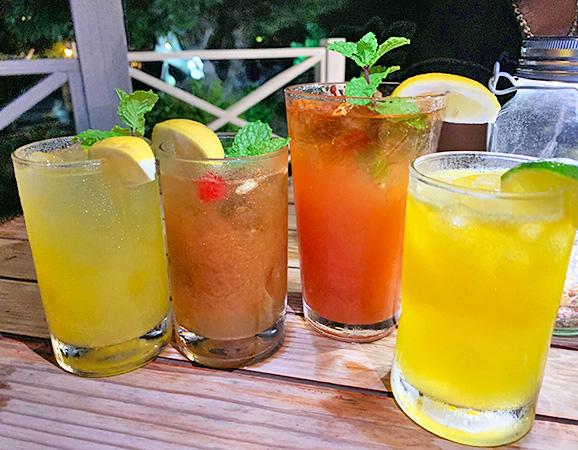 Cocktails at lime keel house