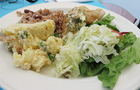 lunch at lit fest