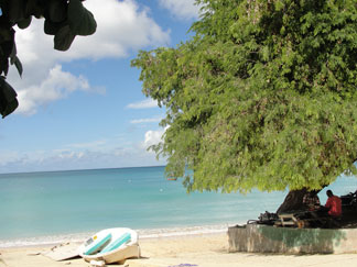 Anguilla beaches, Little Bay, Calvin, boat ride
