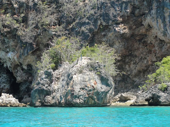 Anguilla beaches, Little Bay, the rock