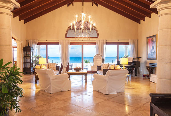 sandcastle villa living room