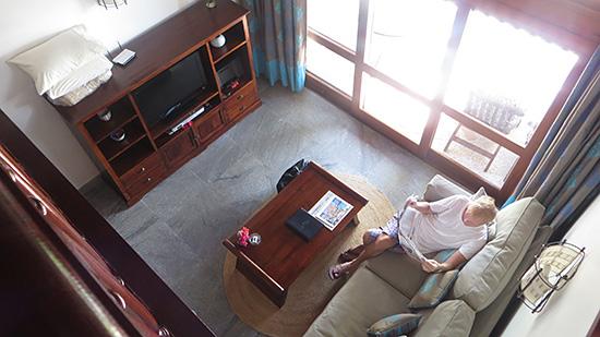 inside the oversized loft at l'esplanade