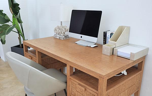 Mac desktop and printer at Champagne Shores