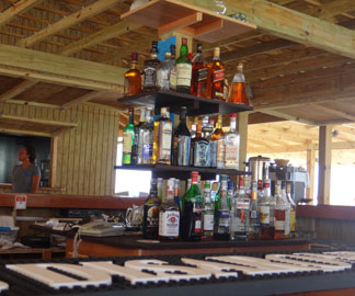 the bar at madeariman restaurant