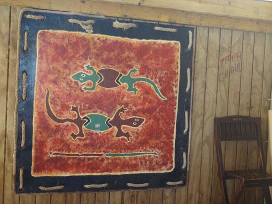 artful touches inside madeariman