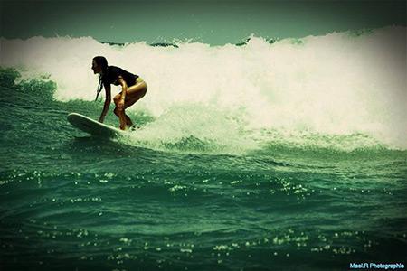 surfing galion st. martin