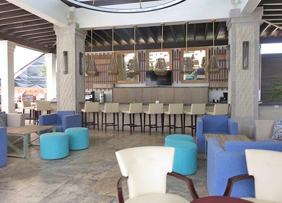 main bar at zemi beach house