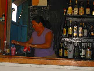 Anguilla restaurants rum punch