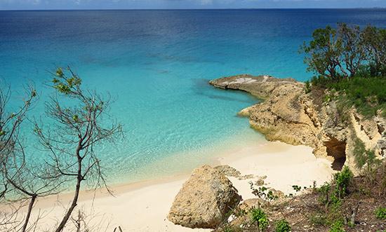secret beach at malliouhana auberge resorts