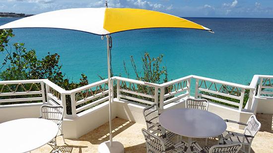 terrace at restaurant at malliouhana