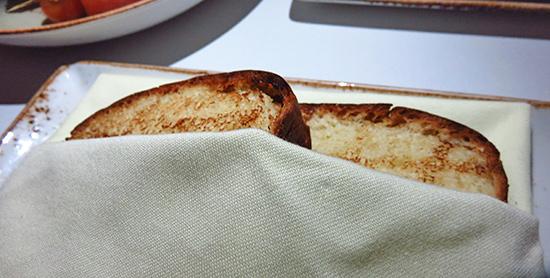 brioche for foie gras at malliouhana