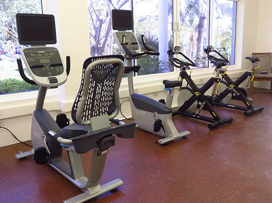 gym at malliouhana