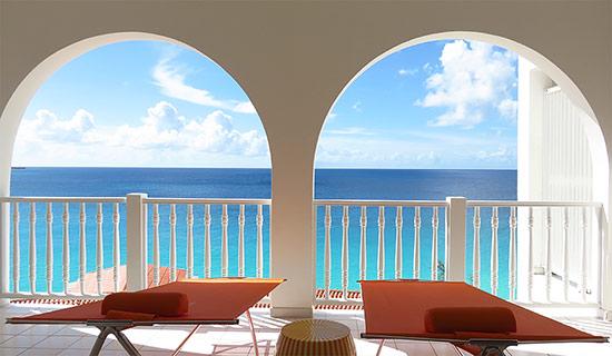 balcony view from malliouhana