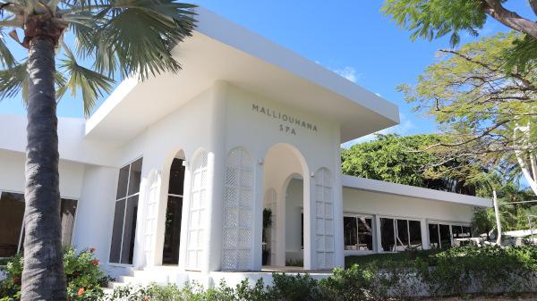 malliouhana spa entrance