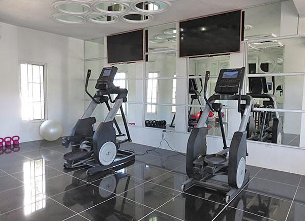 the gym at manoah