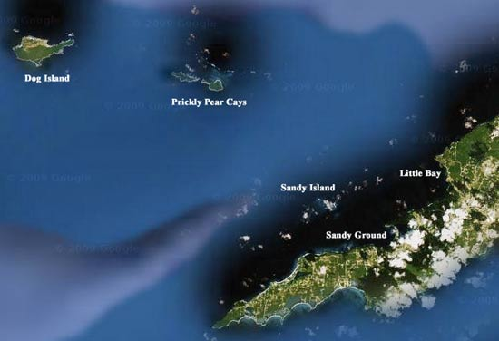 map of anguilla charter boat