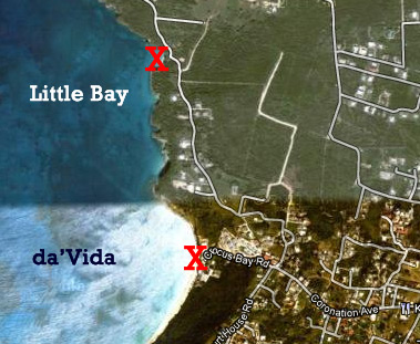map of little bay