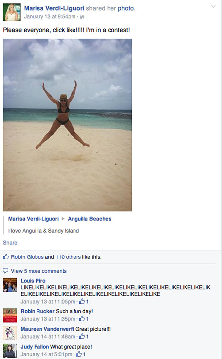 marisa entry anguilla contest