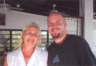 Marjorie McClean, Christian McClean, Ferryboat Inn, Anguilla