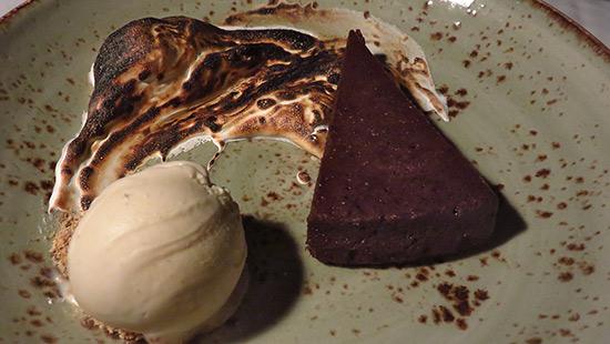 marshmallow dessert at malliouhana