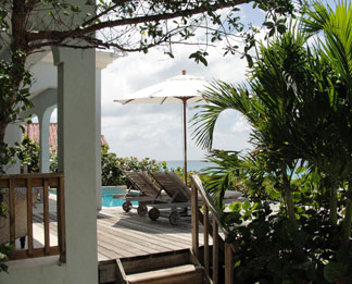 Anguilla resort Meads Bay Beach Villas Unit 1