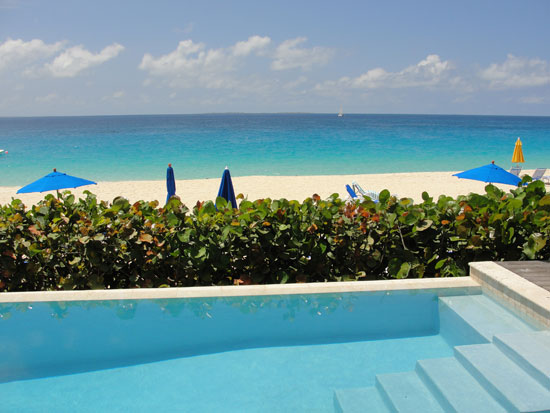 The View From Villa 1 At Meads Bay Beach Villas Resort In Anguilla