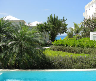 The view from Villa 2 at Anguilla resort, Meads Bay Beach Villas