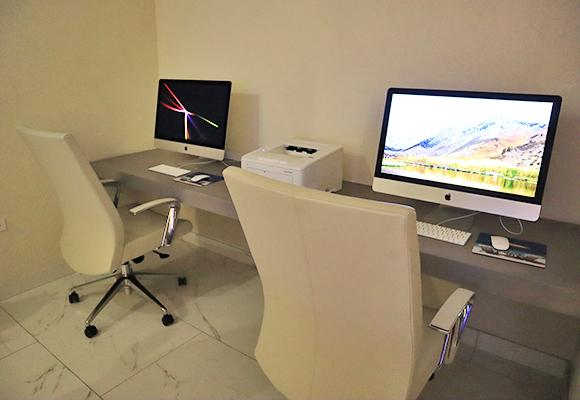 Media Room at CuisinArt Golf Resort & Spa