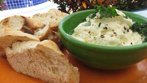 Ricotta appetizer  at CuisinArt's Mediterraneo