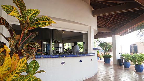 View of CuisinArt walkway towards Rendezvous