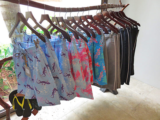 henri james swimwear inside zemi beach boutique out of the blue