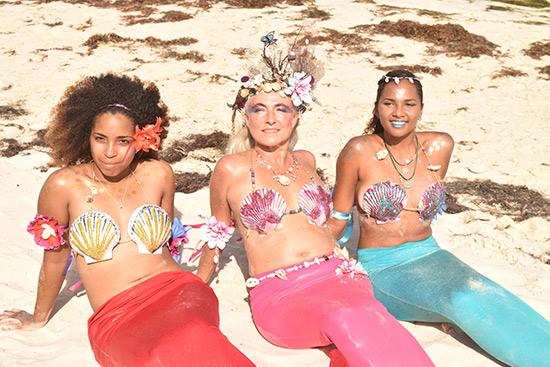 handmade mermaid costumes