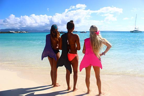 mermaid school in anguilla