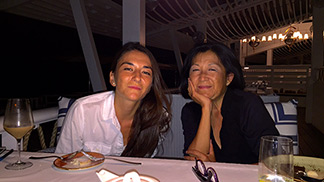 mom and nori at malliouhana