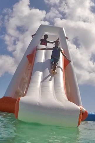 more family fun at aqua park in anguilla