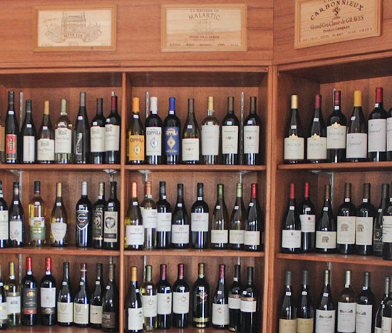 imported wines from grands vins de france