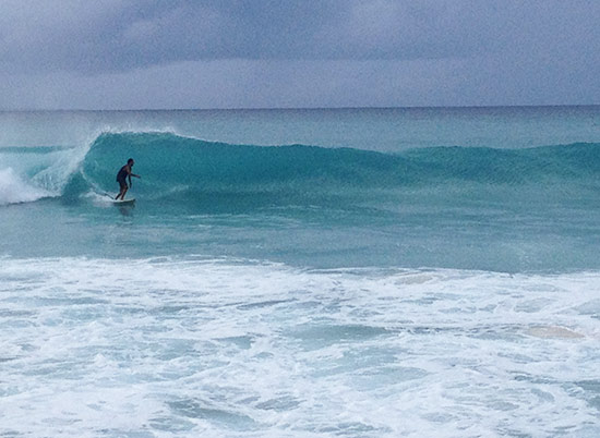 more surfing on meads bay