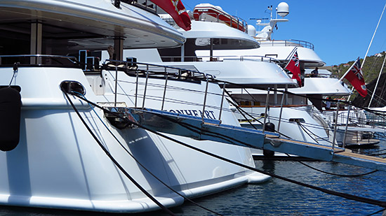 even more yachts