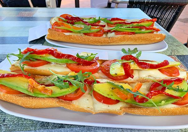 Tomato Mozzarella Tartine at Top Carrot